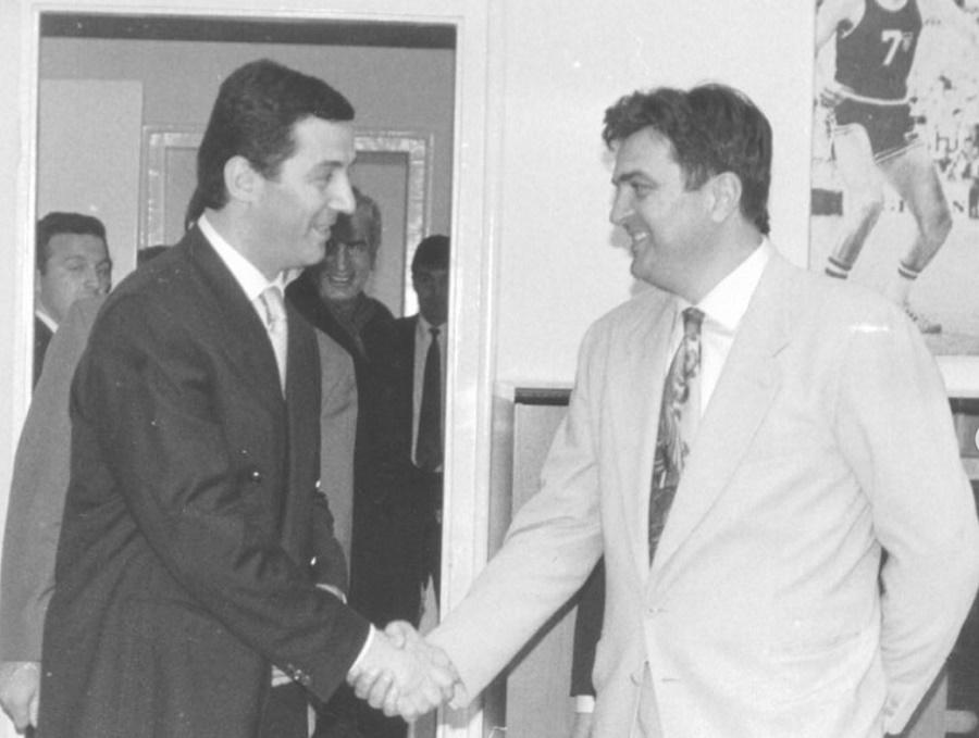 Đukanović i Knežević 90-ih