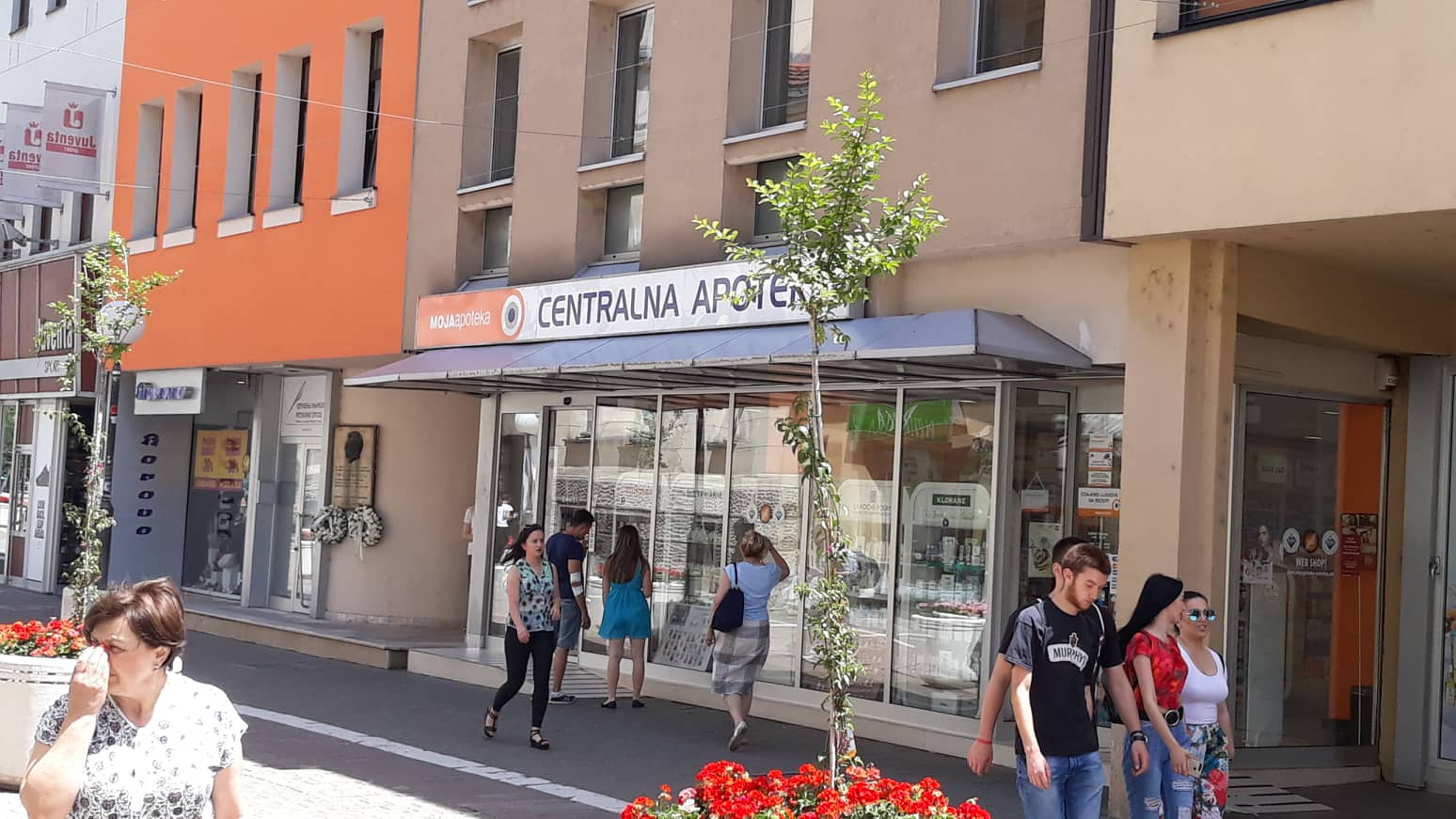 """Foto: Centralna apoteka """"Moja apoteka"""" u Gospodskoj ulici u Banja Luci"""